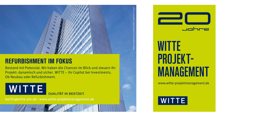 WITTE Relaunch Corporate Design
